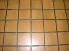 Hospital Research: Cafeteria Orange Tile Floor 1