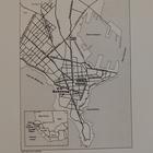Map of Dakar, Senegal