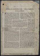 Anglo-American Coloured Children