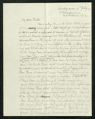 Letter to My dear Edith, July 19, 1936