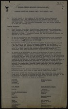 Disabled Persons Employment Corporation Progress Report November 11, 1947 through January 31, 1948
