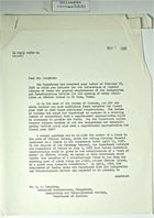 Correspondence between W. A. Wieland, E. A. Loughran, Senator Lyndon B. Johnson, & General Ewing re: General Requirements of INS for Opening Entry Facilities at Cordova Island in El Paso, TX; Inform Mexican Ambassador - No State Dept. Proposal to Erect Fence to SE of Boundary Marker No. 4, March 9, 1959