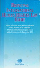 The relationship of international law and domestic law: Section 39(1) of Constitution of South Africa: The Gateway for Application of the Convention on the Elimination of All Forms of Discrimination against Women and the Convention on the Rights of the Child in South Africa