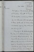 Translation of Letter re: Cuban Filibusters, February 10, 1885