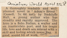 Adam's Breed by Radclyffe Hall