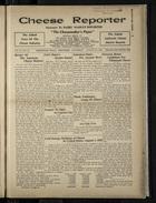 Cheese Reporter, Vol. 54, no. 49, Saturday, August 16, Saturday, 1930