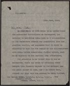 Letter from F. W. Leggett to Sir George Gater, re: Little improvement in colour bar situation on Merseyside, June 13, 1944