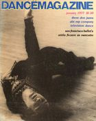Dance Magazine, Vol. 51, no. 1, January, 1977