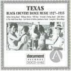 Texas Black Country Dance Music (1927-1935)