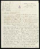 Letter from Francis Russell to Samuel Pratt Winter, September 28, 1874