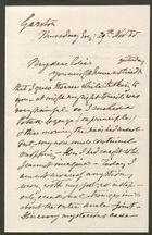 Letter to Edith Thompson, November 29, 1888