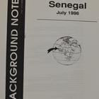 Background Notes: Senegal, July 1996
