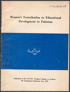 Women's Contribution to Educational Development in Pakistan