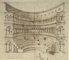 An amphitheatre (pen & ink on paper)