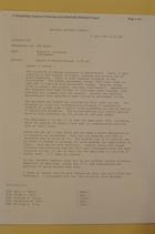 Memo from Donald Steinberg re: Update on Rwanda/Burundi 1:30 pm, April 7, 1994