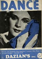 Dance (Magazine), Vol. 5, no. 5, February, 1939, Dance, Vol. 5, no. 5, February, 1939