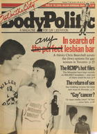 The Body Politic no. 77, October 1981