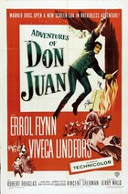 The Adventures of Don Juan (1948): Continuity script