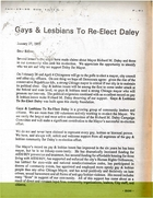 Gay & Lesbians to Re-Elect Daley