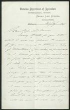 Letter from C. French to Edith Thompson, March 20, 1895