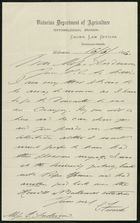 Letter from C. French to Edith Thompson, June 16, 1896
