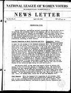 News Letter, vol. 2 no. 8, April 20, 1936