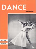 Dance Magazine, Vol. 15, no. 11, October, 1942