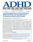 ADHD Report, Volume 21, Number 02, April 2013