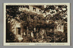 12, Rue Du Vieux College, Geneva, International Headquarters of WILPF