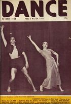 Dance (Magazine), Vol. 5, no. 1, October, 1938, Dance, Vol. 5, no. 1, October, 1938