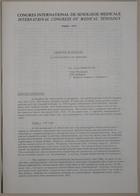 Congrès International de Sexologie Médicale- International Congress of Medical Sexology (Abortion in Hungary - L'Avortement En Hongrie) - Paris 1974