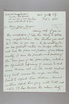 Letter from Emma Sampson to Dorothy Kenyon, February 2, 1938