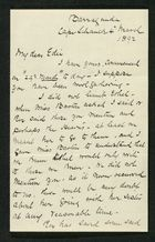 Letter from Robert Anderson to Edith Thompson, March 4, 1892