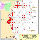 Destroyed Villages Reported By Respondents In Refugee Camps In Chad