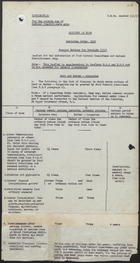Example of Rationing Order, 1918 - Special Rations for Invalids [III], December 1918, Jan. 13, 1939