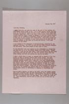 Letter from Mrs. Arthur Forrest Anderson to Mrs. Robert G. Neumann, January 23, 1967