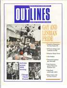 OUTLINES THE VOICE OF THE GAY AND LESBIAN COMMUNITY VOL 3 NO. 2, JULY 1989
