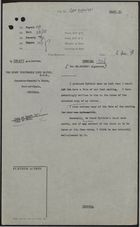 Draft of Letter from P. Rogers to Lord Hailes re: Meeting with Byfield, December 2, 1958