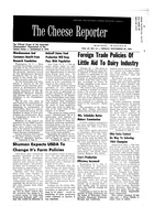 The Cheese Reporter, Vol. 87, No. 14, Friday, November 29, 1963