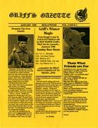 Griff's Gazette, Volume 2, Issue 1, January 1988