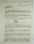 Copy of Partial Letter from Samuel Atkins to Governor Harding re: Wage Dispute, April 9, 1917; plus Copy of Memorandum for Executive Secretary C. A. McIlvaine re: Samuel Atkins Case, November 20, 1933