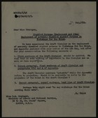 Letter from C. W. Marriff to B. M. Grainger, May 21, 1954