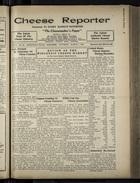 Cheese Reporter, Vol. 54, no. 25, Saturday, March 1, 1930