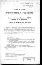 Summary of Annual Reports for 1942-43