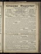 Cheese Reporter, Vol. 54, no. 44, Saturday, July 12, 1930