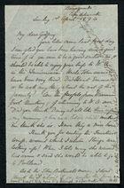 Letter from Edith Thompson to Godfrey Howitt, April 1, 1894