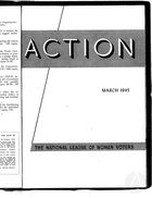 Action, vol. 1 no. 3, March 1945