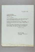 Letter from Mary van Kleeck and Susan B. Anthony (II) to Gene Weltfish, November 8, 1945
