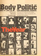 The Body Politic no. 39, December/January 1977/1978