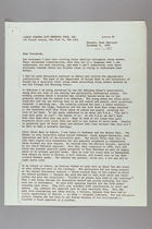 Letter from Anna Lord Strauss to Carrie Chapman Catt Memorial Fund, November 9, 1957